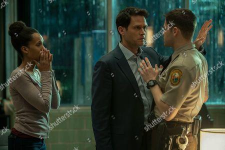 Kerry Washington as Kendra, Steven Pasquale as Scott Connor and Jeremy Jordan as Paul Larkin