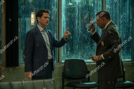 Steven Pasquale as Scott Connor and Eugene Lee as Lt. John Stokes