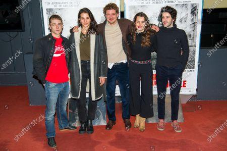 Editorial image of 'Sympathie Pour Le Diable' film premiere, Paris, France - 14 Nov 2019