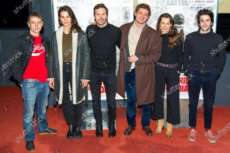 Editorial photo of 'Sympathie Pour Le Diable' film premiere, Paris, France - 14 Nov 2019