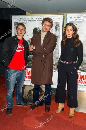 Editorial picture of 'Sympathie Pour Le Diable' film premiere, Paris, France - 14 Nov 2019