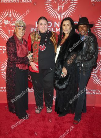 Stock Picture of Shari Belafonte, Candace Bowen, Guest