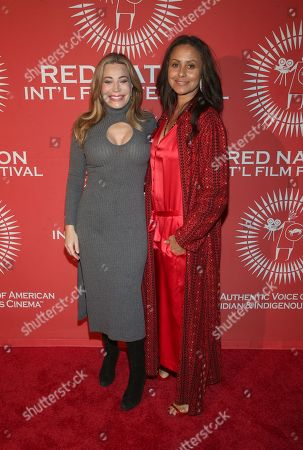 Editorial photo of 'Woman Of The White Buffalo' premiere, Red Nation International Film Festival, Los Angeles, USA - 14 Nov 2019