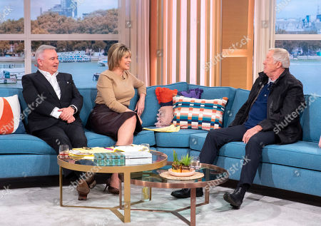 Stock Image of Eamonn Holmes and Ruth Langsford with Chris Tarrant