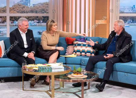 Stock Photo of Eamonn Holmes and Ruth Langsford with Chris Tarrant