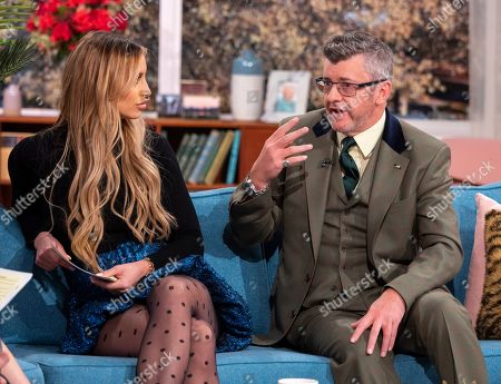 Stock Photo of Ferne McCann and Joe Pasquale