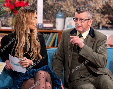 Stock Picture of Ferne McCann and Joe Pasquale