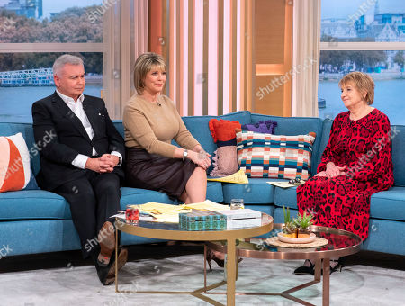Stock Picture of Eamonn Holmes and Ruth Langsford with Deidre Sanders