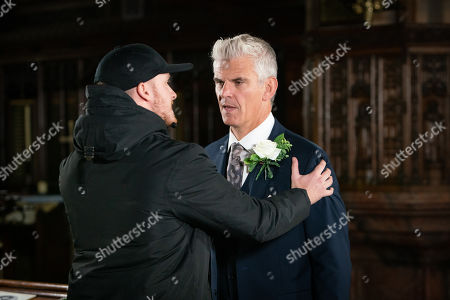 Ep 9943 Wednesday 4th December 2019 - 2nd Ep Tyler, as played by Will Barnett, barges into the wedding and demands to know what's happened to his mum. With rumours circling that Robert Preston, as played by Tristan Gemmill, might've done away with Vicky, concerns spark for Michelle when she remembers that he emphatically told her Vicky wouldn't be interrupting the wedding.