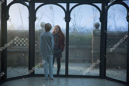 Charlie Shotwell as Eli and Sadie Sink as Haley