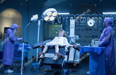Lili Taylor as Dr. Horn, Charlie Shotwell as Eli and Deneen Tyler as Nurse Barbara