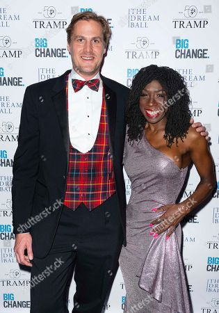 James Innes and Heather Small