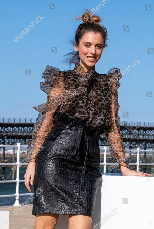 Leticia Dolera poses during a press conference on the occasion of the 45th Ibero-American Film Festival of Huelva, in Huelva, Spain, 15 November 2019. Dolera will receive this evening the 'Luz' (Lit.: Light) Award during the opening ceremony of the festival, that will run from 15 to 22 November.