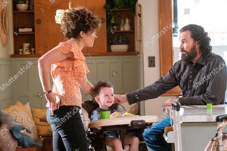 Sarah Stiles as Gladys and Sean Bridgers as Louis Darnel