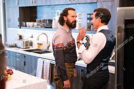 Sean Bridgers as Louis Darnell and Matty Finochio as Evan