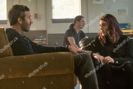 Chris O'Dowd as Miles Daly and Carolyn Dodd as Emma Daly