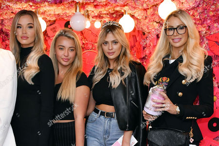 Lauren Holdsworth, Harley Brash, Danielle Sellers and Olivia Attwood