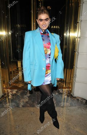 Editorial picture of Steve Madden x Winnie Harlow launch party, London, UK - 14 Nov 2019