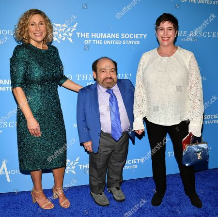Stock Photo of Kitty Block, Danny Woodburn and Amy Buchwald