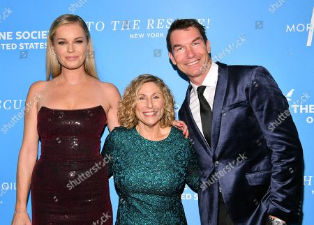 Rebecca Romijn, Kitty Block and Jerry O'Connell