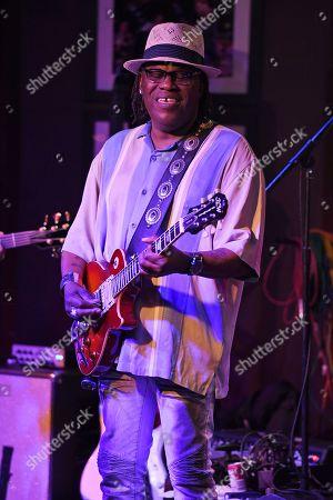 Editorial photo of Joe Louis Walker in concert at The Funky Biscuit, Boca Raton, USA - 14 Nov 2019