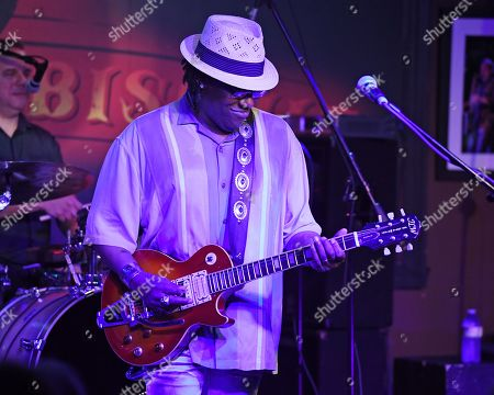 Editorial image of Joe Louis Walker in concert at The Funky Biscuit, Boca Raton, USA - 14 Nov 2019