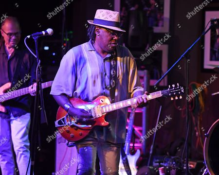 Editorial picture of Joe Louis Walker in concert at The Funky Biscuit, Boca Raton, USA - 14 Nov 2019