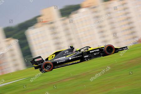 Stock Image of 15.11.2019, Autódromo José Carlos Pace, Interlagos, FORMULA 1 HEINEKEN GRANDE PRÊMIO DO BRASIL 2019 ,   Nico Huelkenberg (GER#27), Renault F1 Team