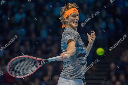Editorial image of Nitto ATP World Tour Finals, The O2 Arena, Greenwich Peninsula, London, United Kingdom, 15th November 2019