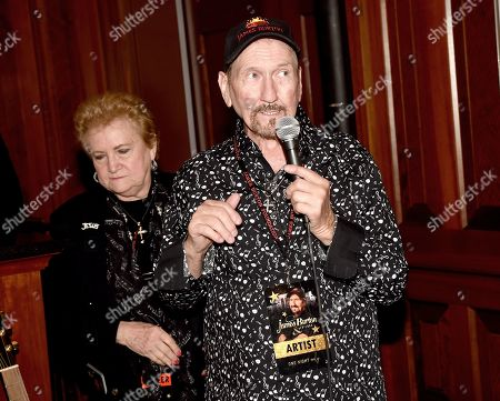 Stock Picture of Louise Burton, James Burton