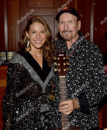 Caroline Jones, James Burton