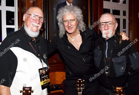 Stock Image of Steve Cropper, Brian May, Jeff Baxter