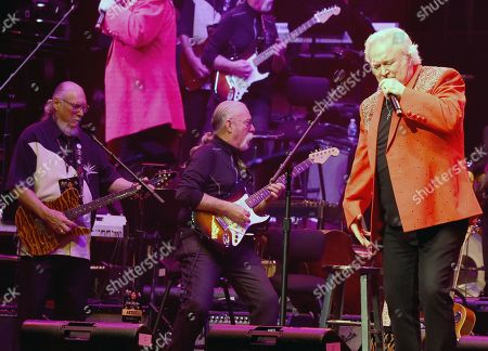 Editorial image of James Burton & Friends One Night Only in concert, Schermerhorn Symphony Hall, Nashville, USA - 12 Nov 2019