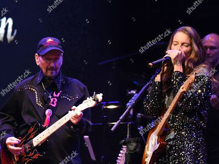 Stock Picture of James Burton, Caroline Jones