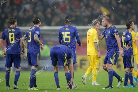 Editorial image of Sweden Euro 2020 Soccer, Bucharest, Romania - 15 Nov 2019