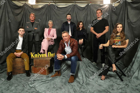 Editorial photo of Lionsgate KNIVES OUT Photo Call, Beverly Hills, USA - 15 November 2019