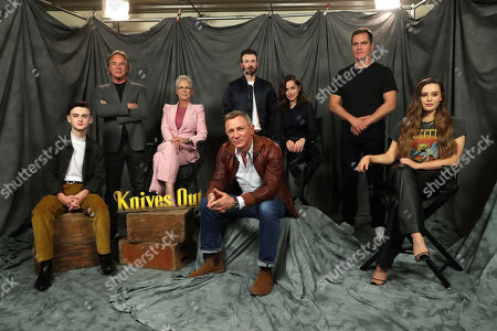Editorial picture of Lionsgate KNIVES OUT Photo Call, Beverly Hills, USA - 15 November 2019