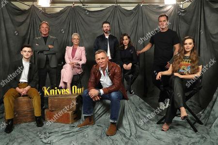 Jaeden Lieberher, Don Johnson, Jamie Lee Curtis, Daniel Craig, Chris Evans, Ana de Armas, Michael Shannon and Katherine Langford