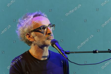 Editorial image of Vincent Delerm in concert at La Cigale, Paris, France - 06 Nov 2019