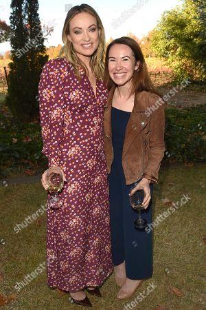 Olivia Wilde and Steven Wilson at the Olivia Wilde Raymond Vineyards Tribute of the 'Trailblazer' Award held at Raymond Vineyards