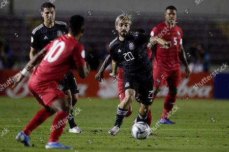 Editorial picture of Mexico Soccer, Panama City, Panama - 15 Nov 2019