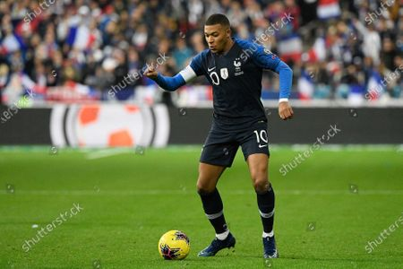 Stock Photo of Kylian Mbappe of France