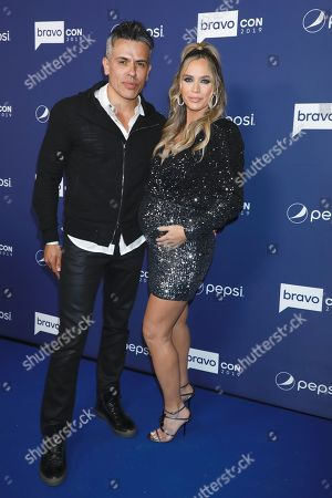 Stock Picture of Edwin Arroyave and Teddi Jo Mellencamp