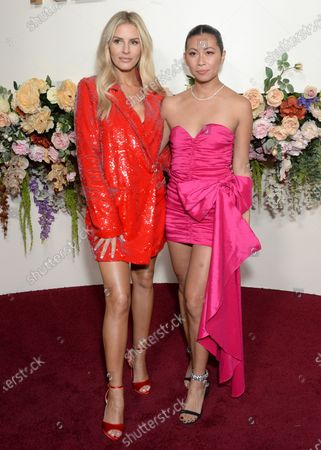 Stock Photo of Morgan Stewart and guest