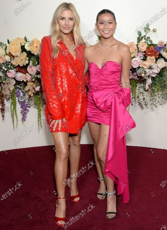Stock Picture of Morgan Stewart and guest