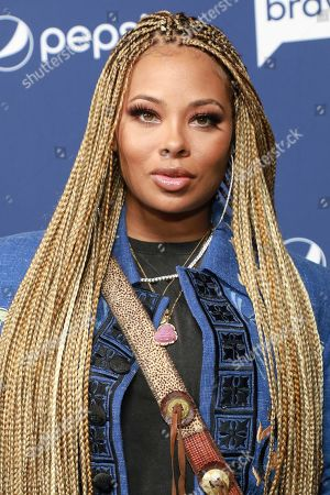 """Eva Marcille attends BravoCon's """"Watch What Happens Live"""" red carpet event, in New York"""