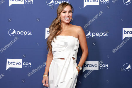 "Kelly Dodd attends BravoCon's ""Watch What Happens Live"" red carpet event, in New York"