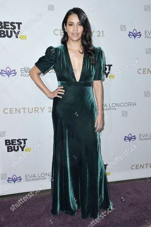 Olga Segura attends the 2019 Eva Longoria Foundation Dinner Gala at the Four Seasons Hotel, in Los Angeles