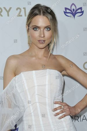 Anne Winters attends the 2019 Eva Longoria Foundation Dinner Gala at the Four Seasons Hotel, in Los Angeles