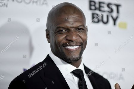 Terry Crews attends the 2019 Eva Longoria Foundation Dinner Gala at the Four Seasons Hotel, in Los Angeles